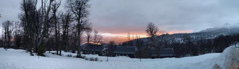 Vista desde Refugio de Montaña, Las Pendientes