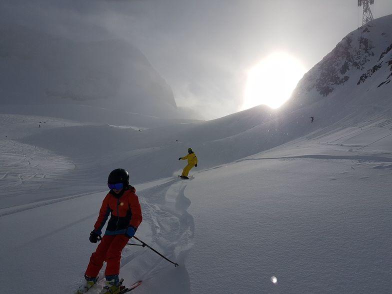 Stubai looking great, Stubai Glacier