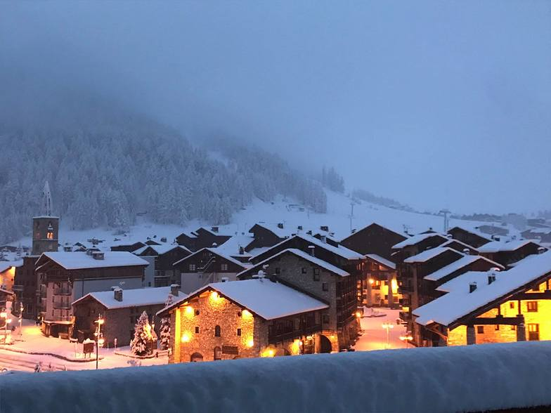 30cm snow on 14th May, Val d'Isere