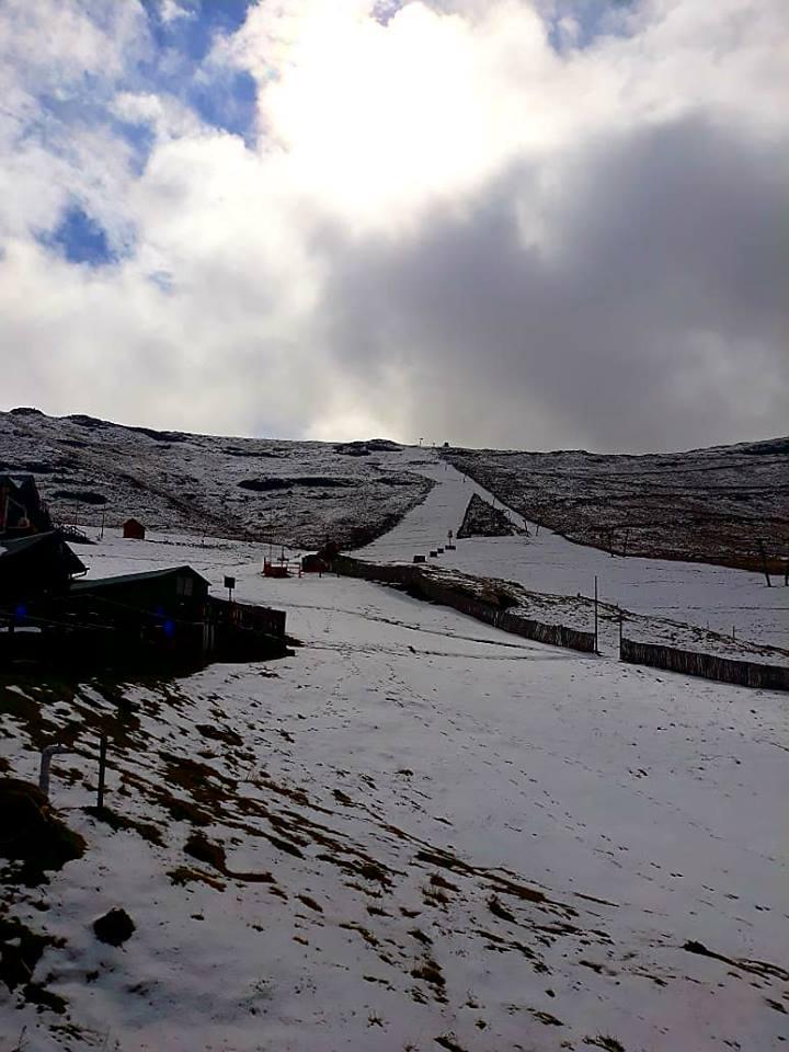 Fresh snow has fallen in Tiffindell