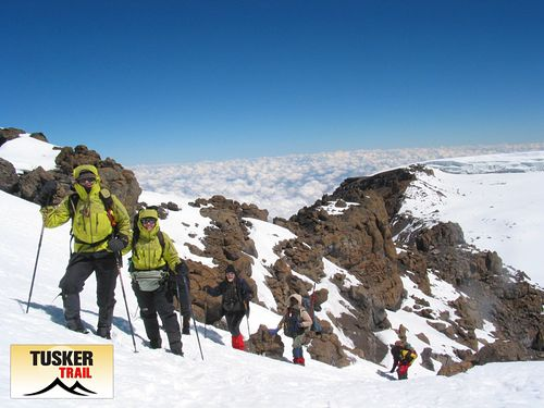 Mount Kilimanjaro Ski Resort by: Eddie Frank