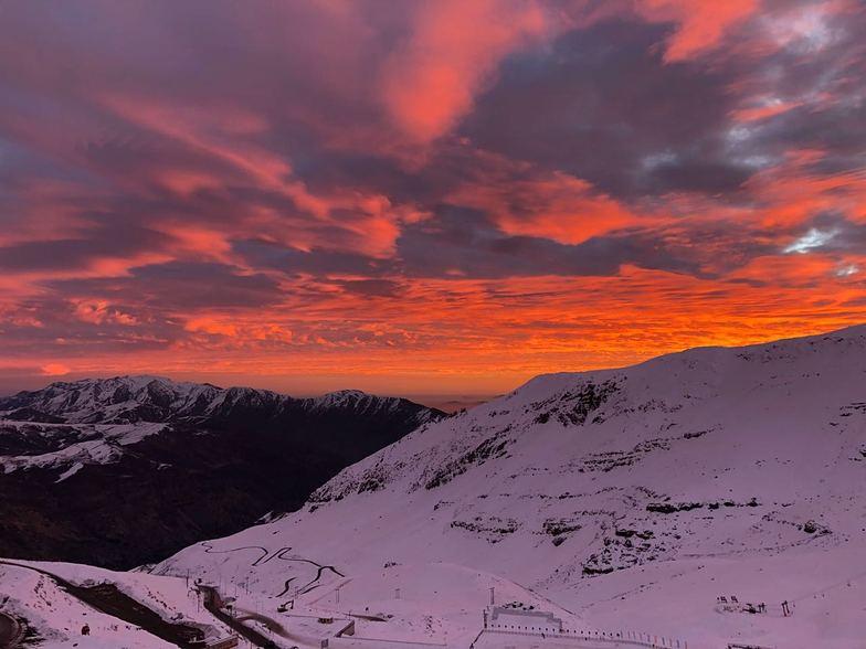 Valle Nevado Sunset