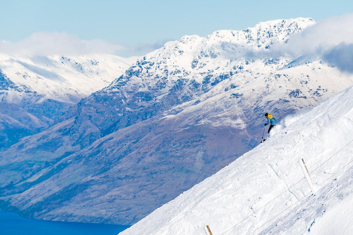 Fresh snow, Coronet Peak