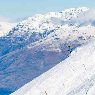 Fresh snow, Coronet Peak