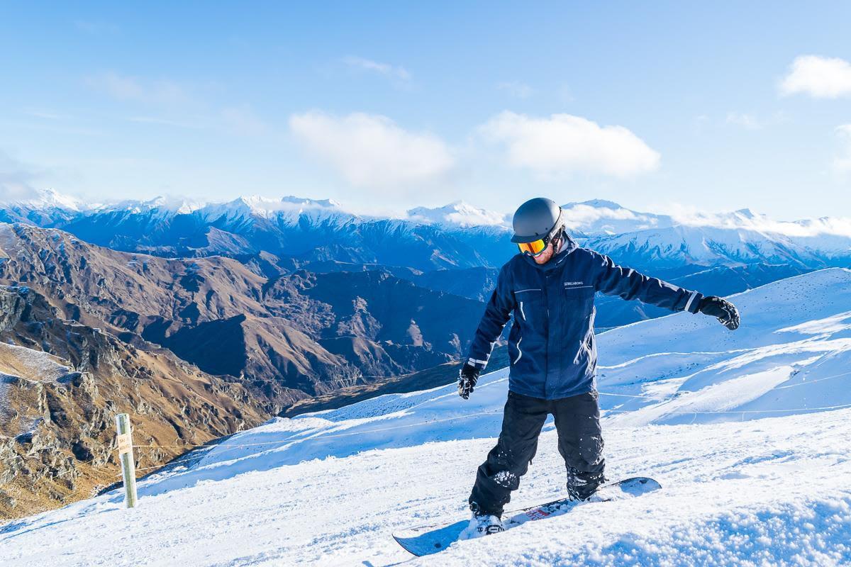 Great day, Coronet Peak
