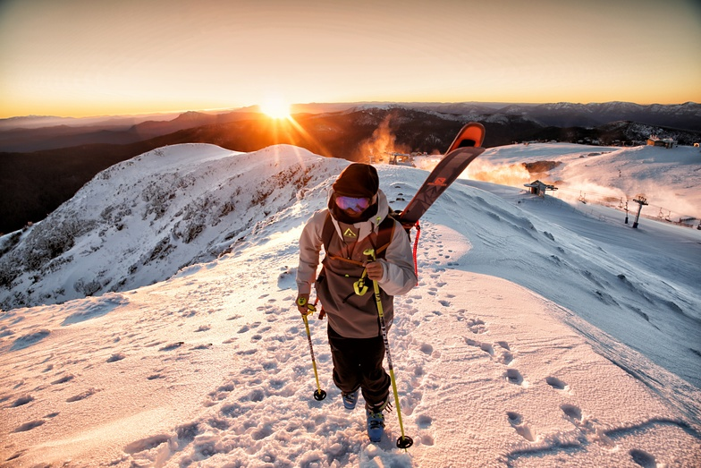 Skiing in Australia winter 2018, Mount Buller