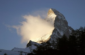 Matterhorn from Zermatt photo