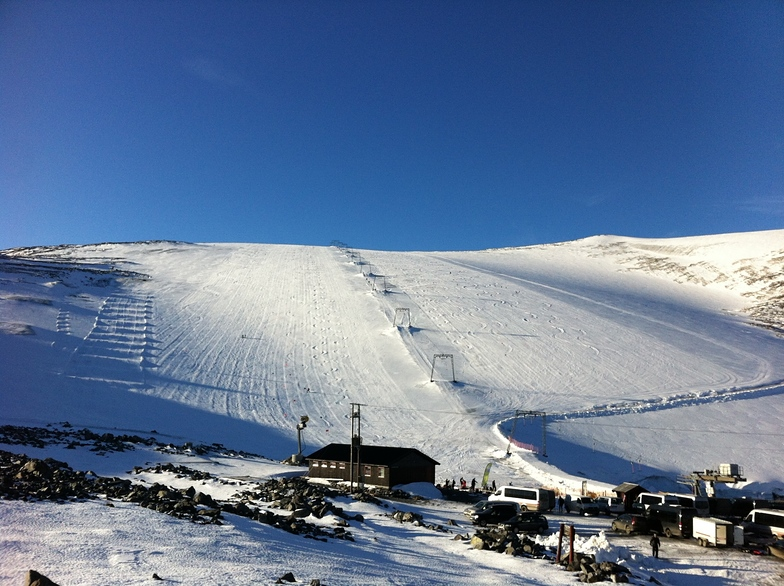 Galdhøpiggen Sommerskisenter snow