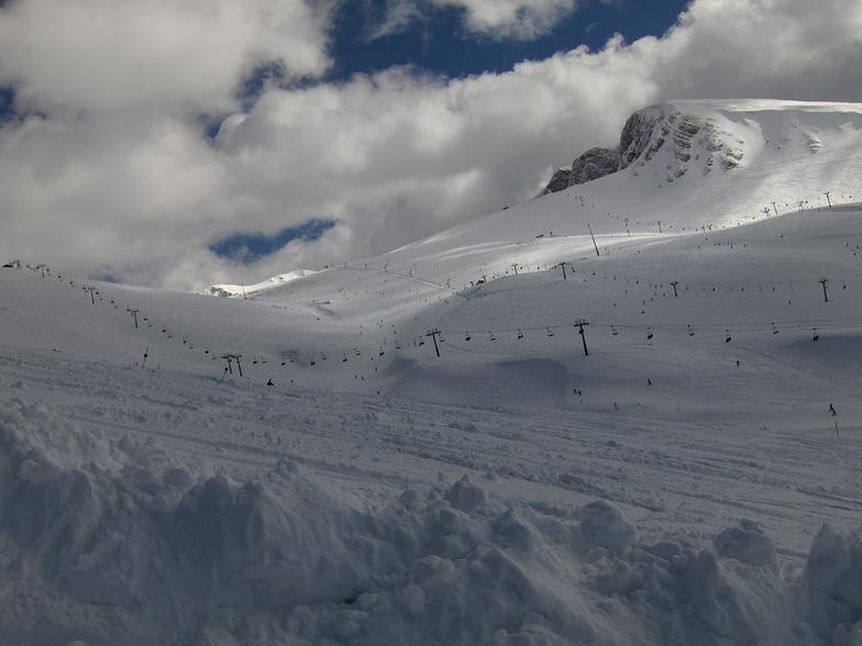 Mt Parnassos-Fterolaka snow