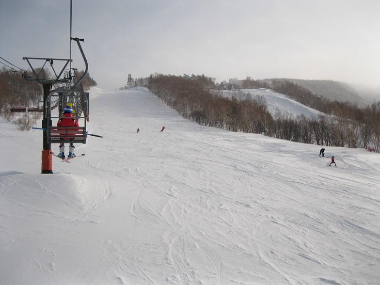Tengendai Kogen snow