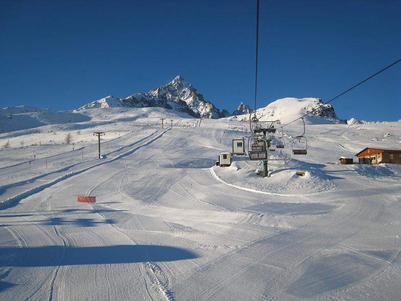 Crissolo snow
