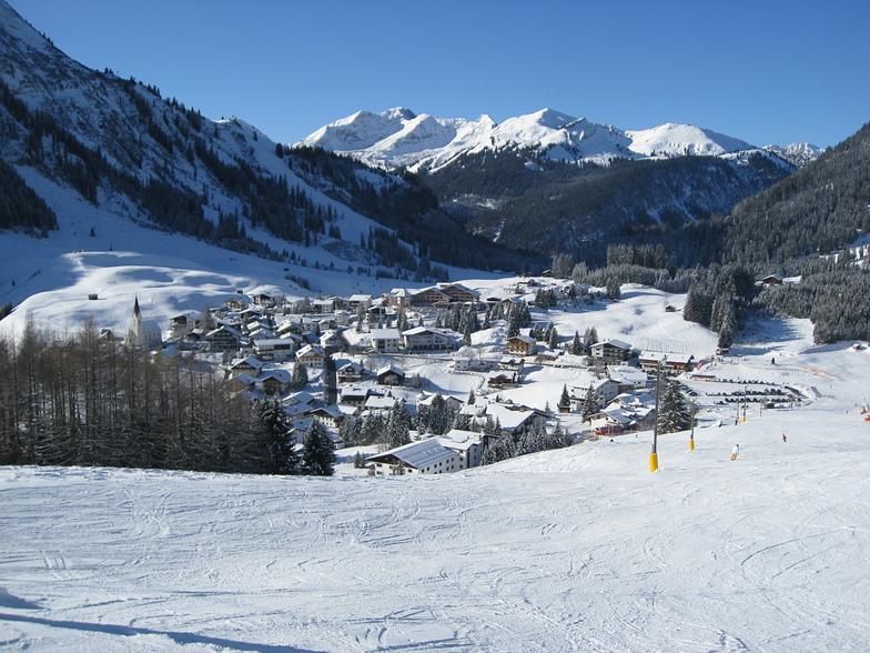 Berwang-Bichlbach-Rinnen snow