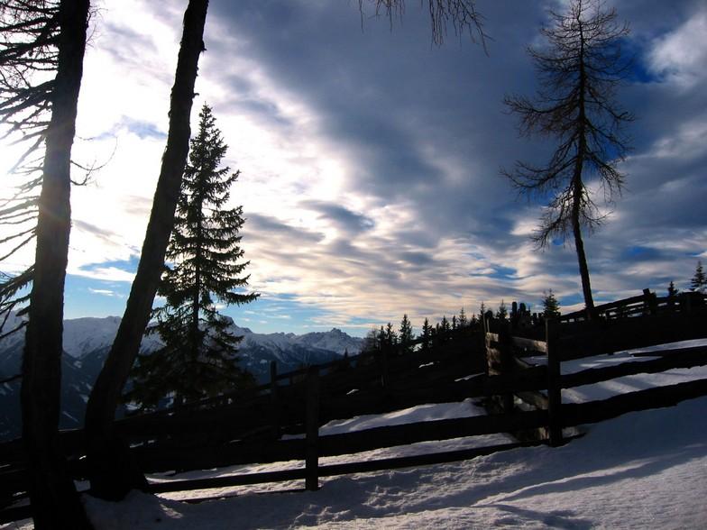 Hochpustertal - Tirol - Austria - View to the Lienzer Dolomiten