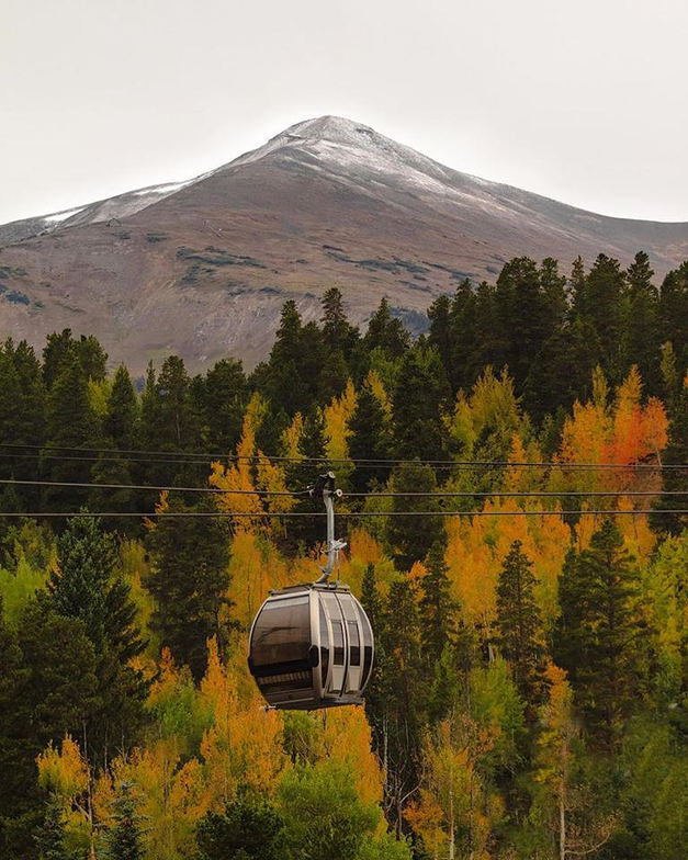 Early snow., Copper Mountain