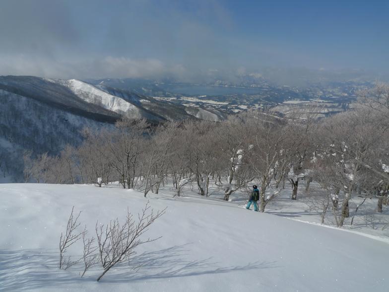 Tazawako snow