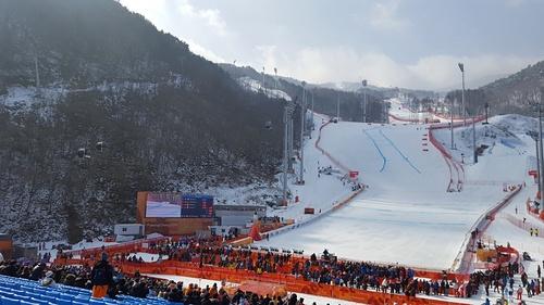 PyeongChang-Jeongseon Alpine Centre  Reiseführer Skiort