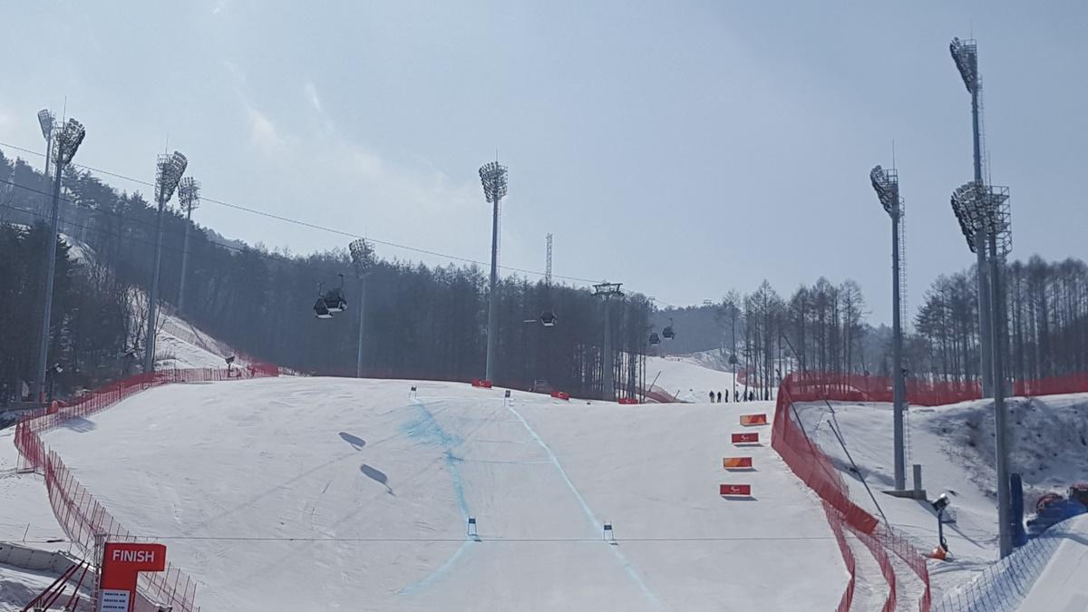 2018 PyeongChang Olympic, PyeongChang-Jeongseon Alpine Centre