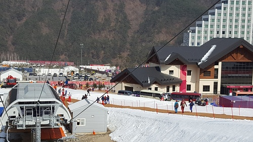 PyeongChang-Jeongseon Alpine Centre Ski Resort by: Byung Chun,Moon
