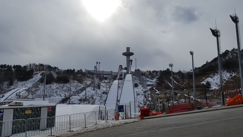 PyeongChang-Alpensia Ski Resort snow