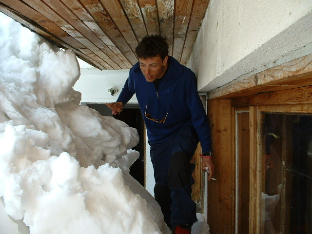 and hoe to go in and out of the hut...?, Vitosha