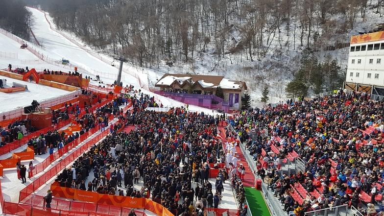 2018 PyeongChang Olympic, PyeongChang-Yongpyong