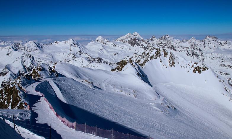 WIldspitzbahn, Pitztal Glacier
