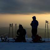 sunset, Horní Mísečky - Medvědín