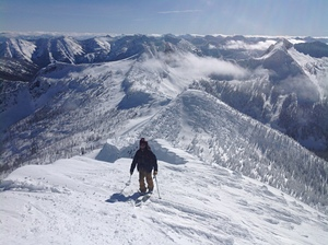 Ymir Peak Summit, Whitewater photo