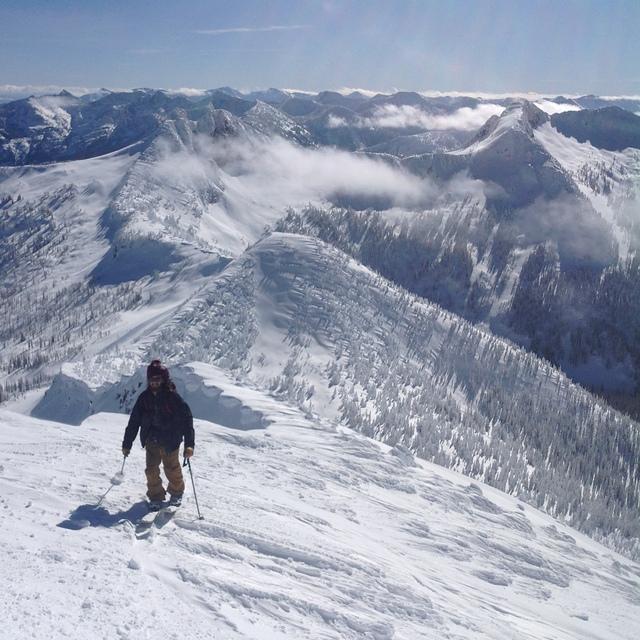 Ymir Peak Summit, Whitewater