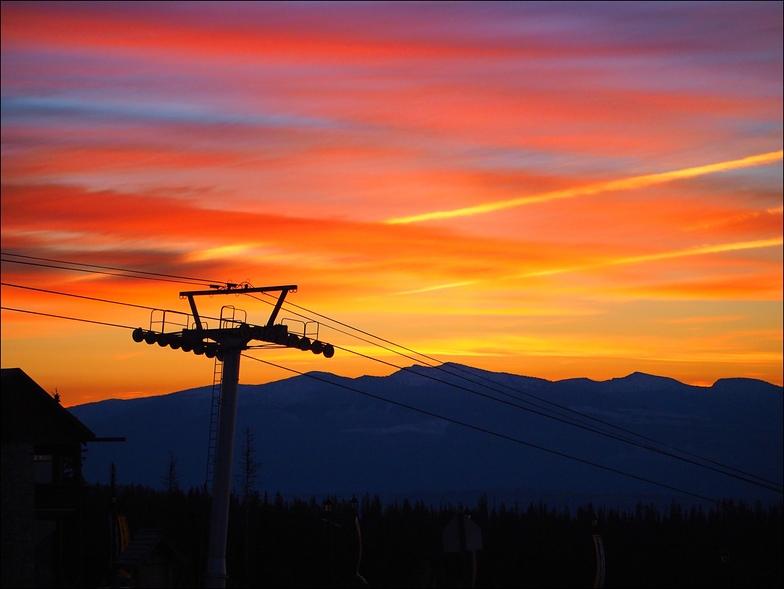 sunrise, Big White