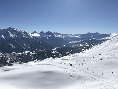 Lenzerheide Ski Resort by: George Bradley