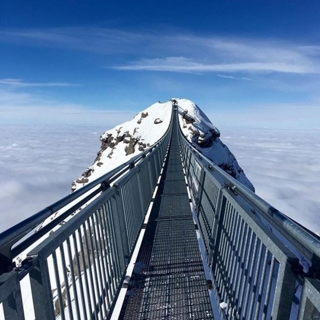The Peak Walk, Gstaad Glacier 3000