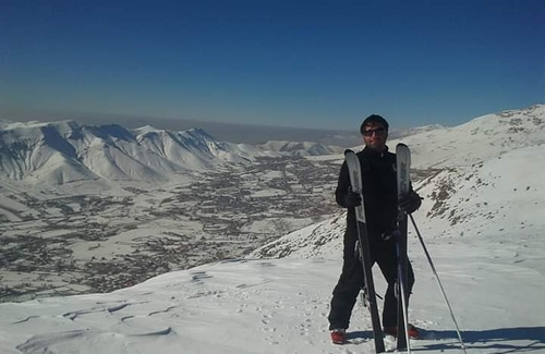 Āb Alī Ski Resort by: Amin nia