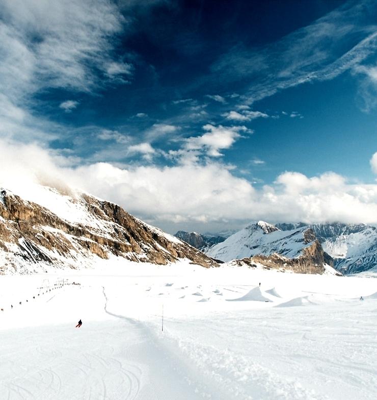 The Snow Park, Gstaad Glacier 3000