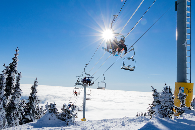 2018/19 season is underway., Sun Peaks