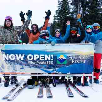 2018/19 season in underway., Sun Peaks