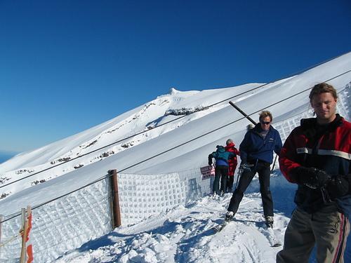 Manganui Ski Resort by: Roly Crawshaw