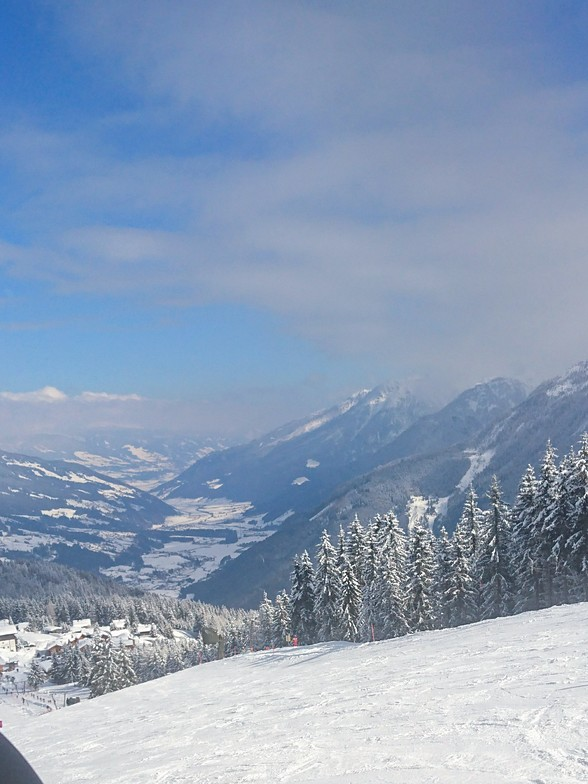Krimml snow