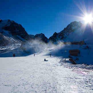 Talgar pass. 3165m, Shymbulak
