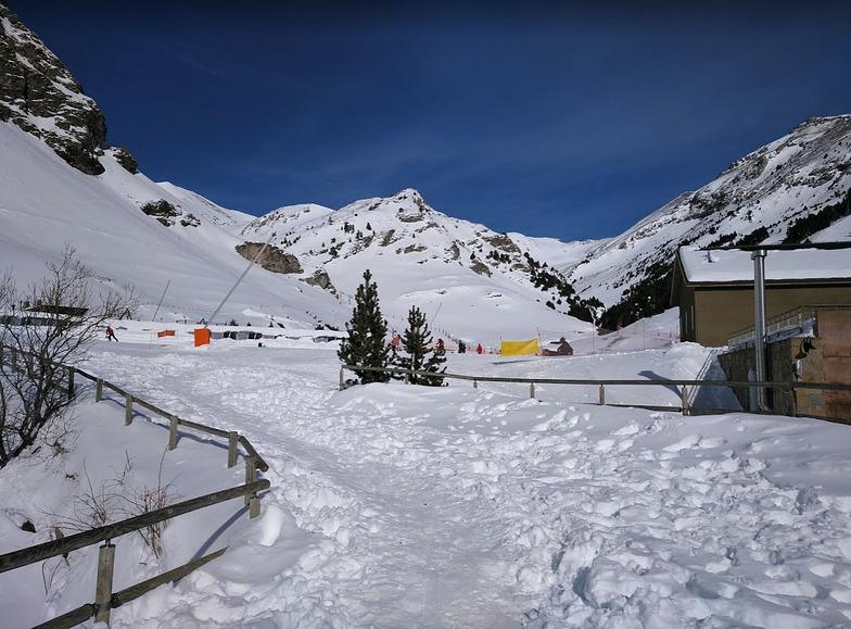Vall de Núria snow