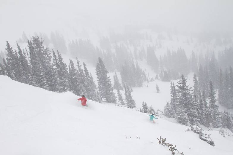 Autumn snowfall: 2.5m and counting..., Breckenridge