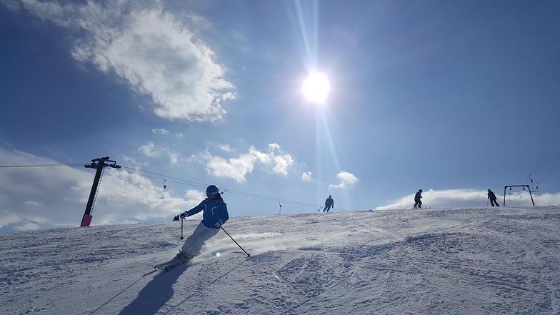 """Skiing on """"Galicki 1"""", Resort Mavrovo"""