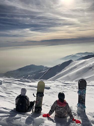 Tochal Ski Resort by: Parisa Yegani