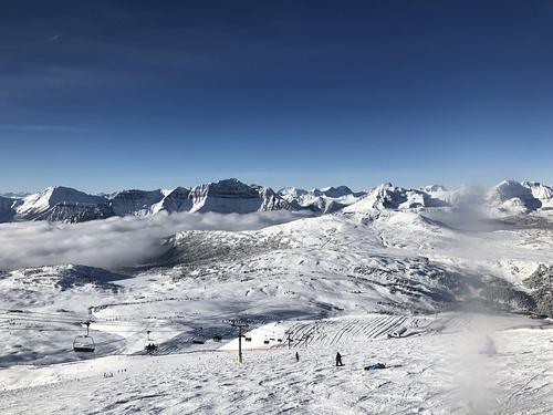 Sunshine Village Ski Resort by: Jim Hennessy