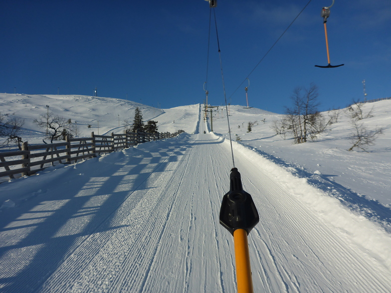 Perfect skiing in Levi