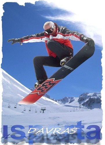 Davraz Ski Resort by: haluk kaplan