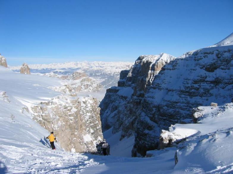 Canazei snow