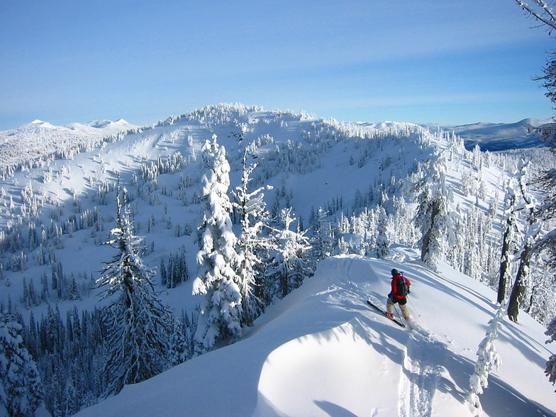 Brundage Mountain Resort snow