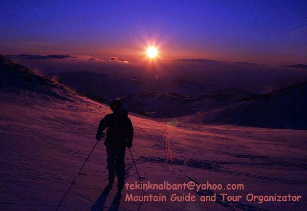 Mt.Erciyes Climbing East Face Tour Ski, Erciyes Ski Resort