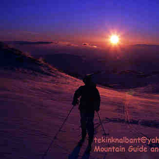 Mt.Erciyes Climbing East Face Tour Ski, Erciyes Ski Resort